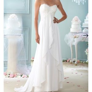 Informal Wedding gown